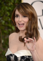 Tina Fey hosts the Golden Globes 2013