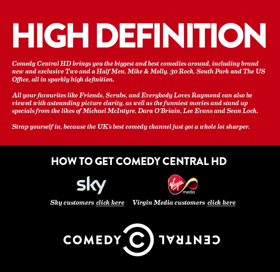 Comedy Central HD is here