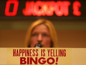 Bored of Euro 2012, woman wins £1million playing online bingo