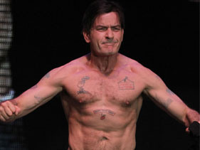 Has Charlie Sheen fallen off the wagon?