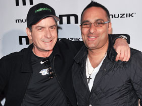 Russell Peters upstages Charlie Sheen?