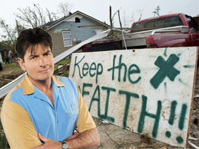 Charlie Sheen's Torpedoes against Tornadoes