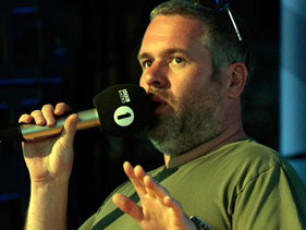 Chris Moyles' Comic Relief record attempt
