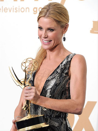 The Primetime Emmy Awards 2011 - Modern Family's Julie Bowen won best supporting actress in a comedy series