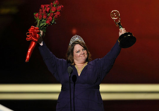 The Primetime Emmy Awards 2011 - Melissa McCarthy wins a pageant as well as an Emmy!