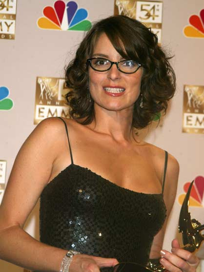 Tina Fey through the years - Tina Fey at The 54th Annual Primetime Emmy Awards
