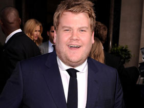 James Corden Beats Darth Vader To Win Tony Award