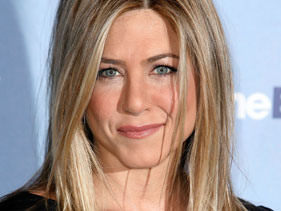 Jennifer Aniston Wears Frock To Party