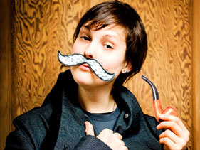 Josie Long nominated for the Edinburgh Comedy Award!