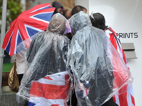 Newsflash: It rained over the Jubilee weekend. Lots