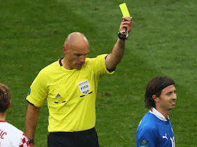 Ever wondered what the Euro 2012 refs do when they're not reffing?