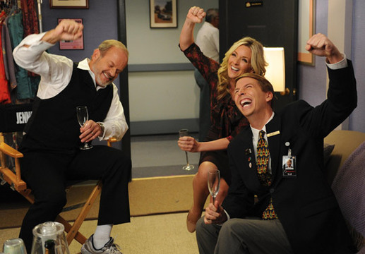 30 Rock Season 6 Guest Stars - Kelsey Grammer returns as part of The Best Friends Gang