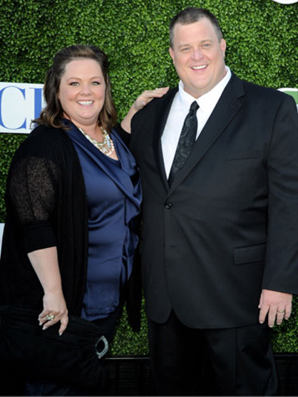 Melissa McCarthy through the years - Melissa McCarthy with Mike & Molly co-star Billy Gardell
