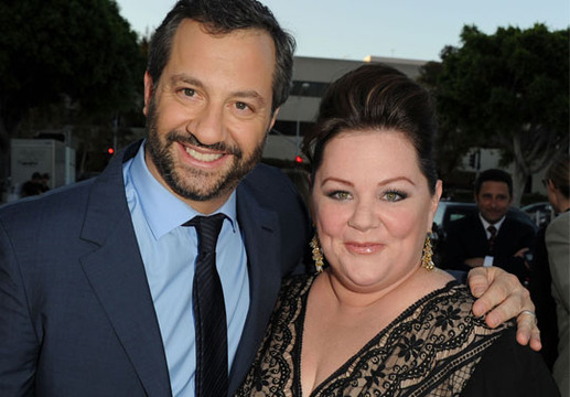 Melissa McCarthy through the years - Melissa McCarthy with Bridesmaids producer Judd Apatow