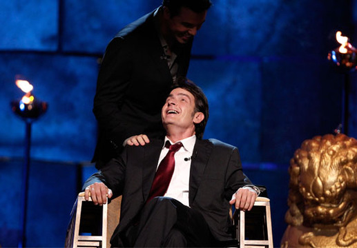 Comedy Central Roast of Charlie Sheen - Seth MacFarlane reassures Charlie Sheen