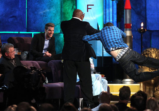 Comedy Central Roast of Charlie Sheen - Quite what's happening here we don't really know yet!