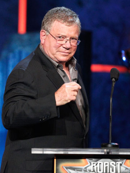 Comedy Central Roast of Charlie Sheen - William Shatner means business