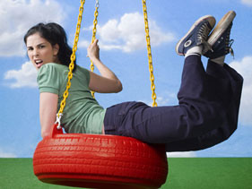 What's Sarah Silverman's favourite position?