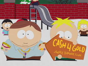 Cartman wants cash for gold in brand new South Park