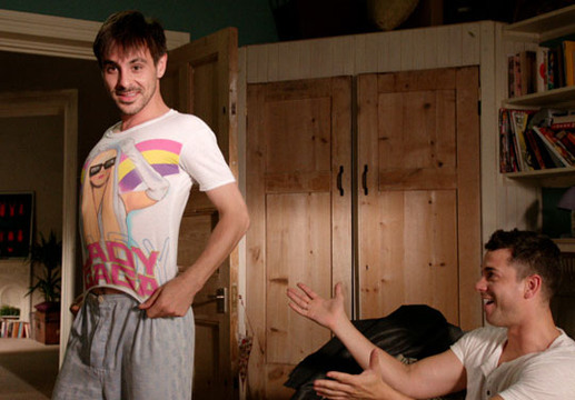 Threesome - Episode 5 - What a lovely Gaga T-shirt!